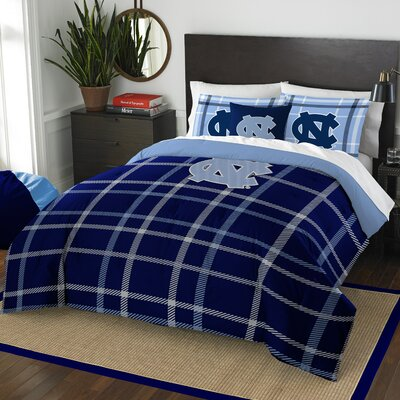 Collegiate University of North Carolina Comforter Set Size: Full