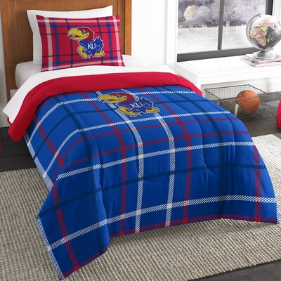 Collegiate Kansas Comforter Set Size: Twin