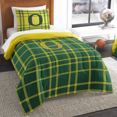 Collegiate Oregon Comforter Set Size: Twin