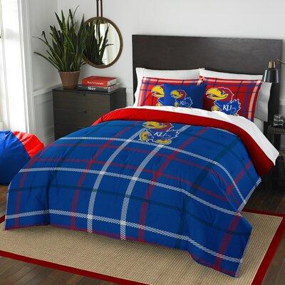 Collegiate Kansas Comforter Set Size: Full