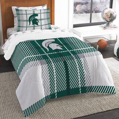 Collegiate Michigan State 5 Piece Twin Comforter Set