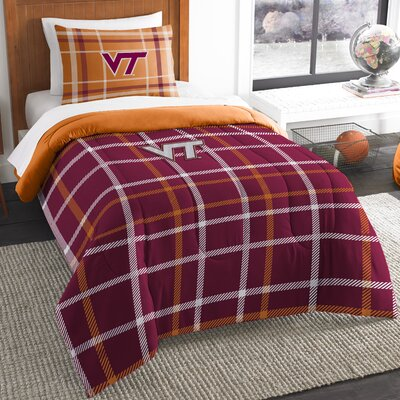 Collegiate Virginia Tech Comforter Set Size: Twin