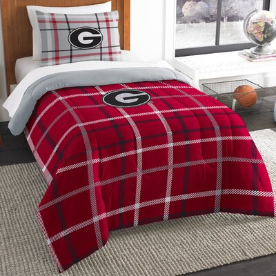 Collegiate Georgia Comforter Set Size: Twin