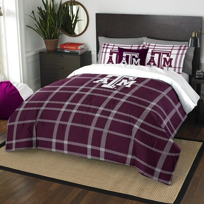 Collegiate Texas A&M Comforter Set Size: Full
