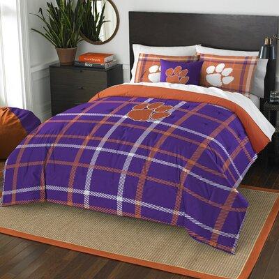Collegiate Clemson Comforter Set Size: Full