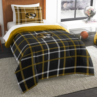 Collegiate Missouri Comforter Set Size: Twin