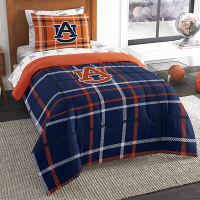 Collegiate Auburn 5 Piece Twin Comforter Set