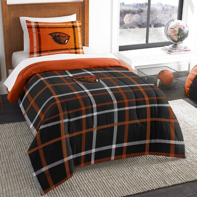 Collegiate Oregon State Comforter Set Size: Twin