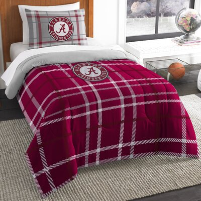 Collegiate Alabama Comforter Set Size: Twin