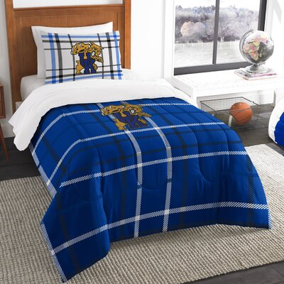 Collegiate Kentucky Comforter Set Size: Twin