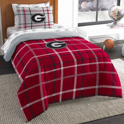 Collegiate Georgia 5 Piece Twin Comforter Set