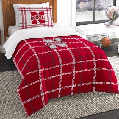 Collegiate Nebraska Comforter Set Size: Twin