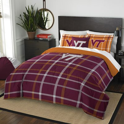 Collegiate Virginia Tech Comforter Set Size: Full
