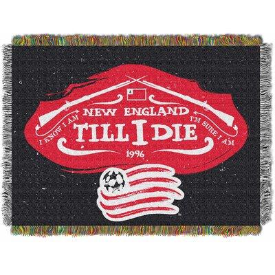 MLS New England Revolution Handmade Throw