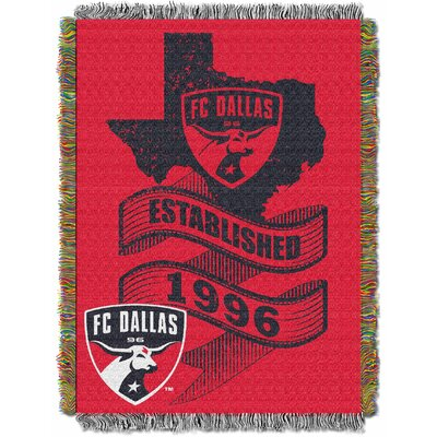 MLS Dallas FC Handmade Throw