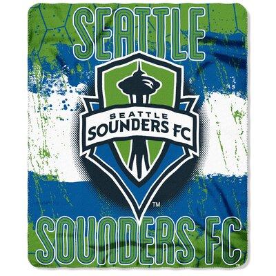 MLS Seattle Sounders Fleece Throw