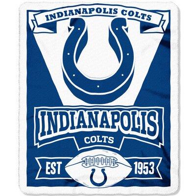NFL Colts Marque Fleece Throw