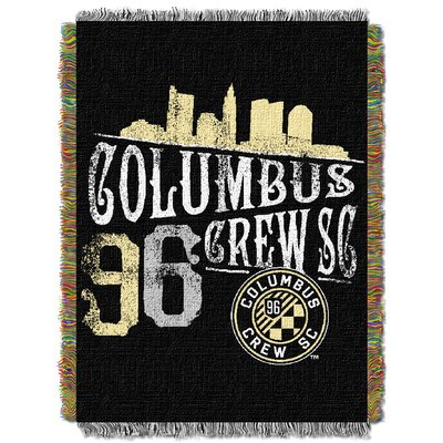 MLS Columbus Crew Handmade Throw