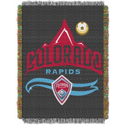 MLS Colorado Rapids Handmade Throw