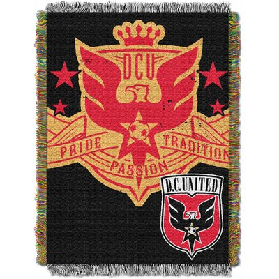 MLS DC United Handmade Throw