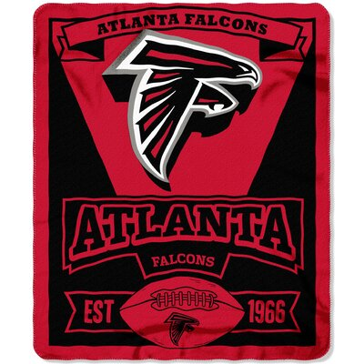 NFL Falcons Marque Fleece Throw