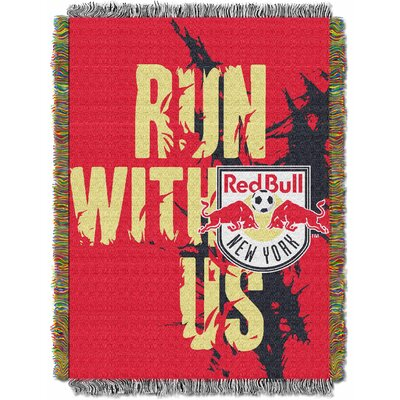 MLS New York Red Bulls Handmade Throw