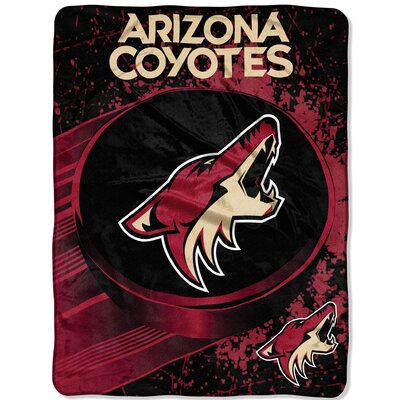 NHL Coyotes Ice Dash Throw