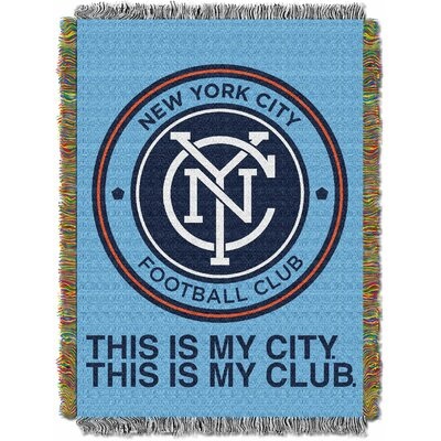 MLS New York City Football Club Handmade Throw