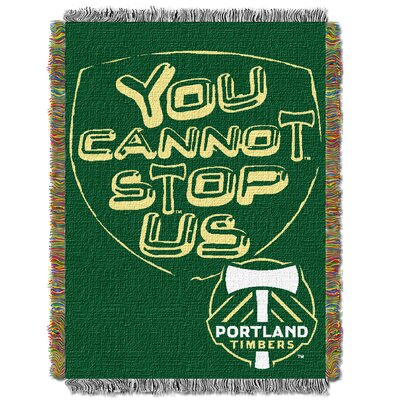 MLS Portland Timbers Handmade Throw