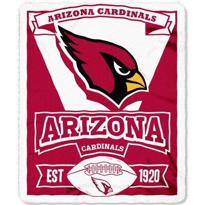 NFL Cardinals Marque Fleece Throw