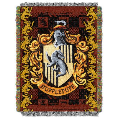 Harry Potter Hufflepuff Crest Throw