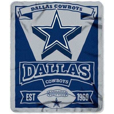 NFL Cowboys Marque Fleece Throw