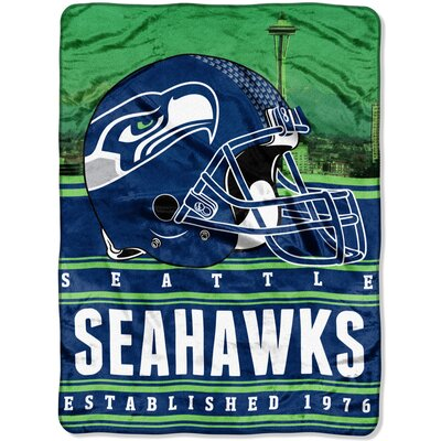 NFL Seahawks Stacked Throw