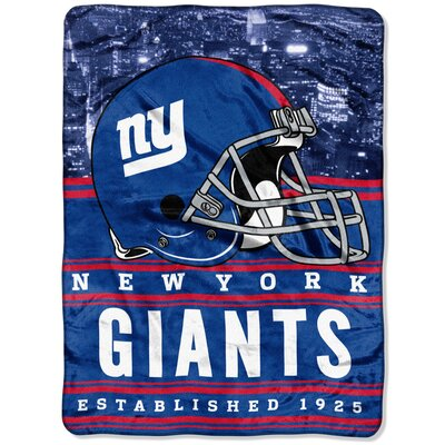 NFL New York Giants Stacked Throw
