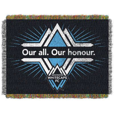 MLS Vancouver Whitecaps Handmade Throw