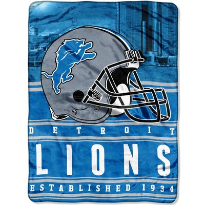 NFL Lions Stacked Throw