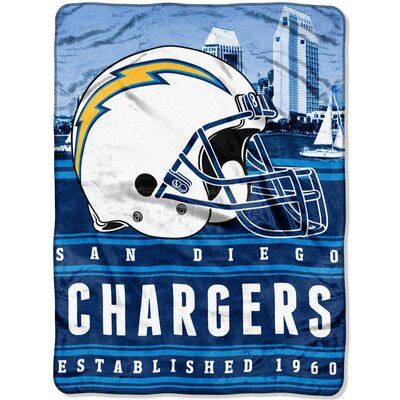 NFL Chargers Stacked Throw