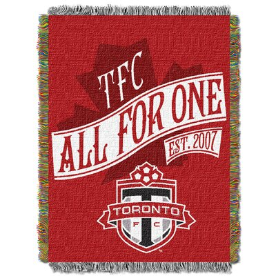 MLS Toronto FC Handmade Throw