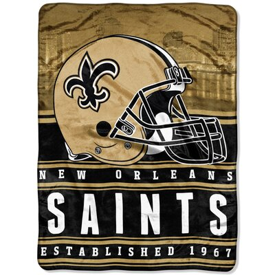 NFL Saints Stacked Throw