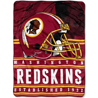 NFL Redskins Stacked Throw