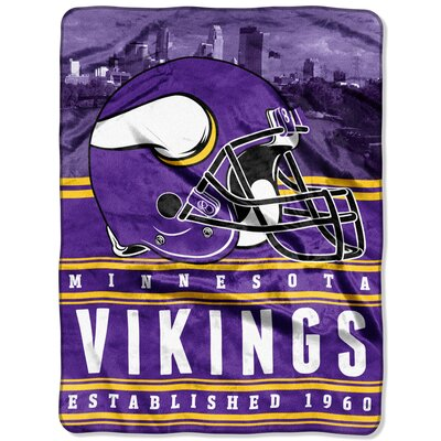 NFL Vikings Stacked Throw
