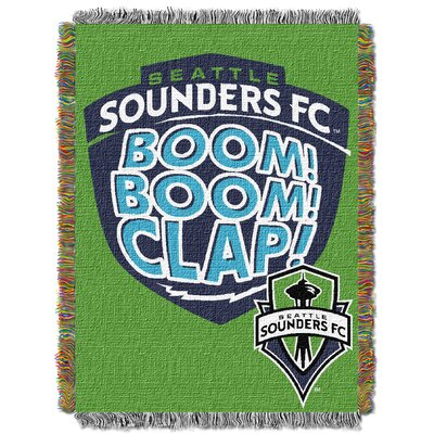 MLS Seattle Sounders FC Handmade Throw