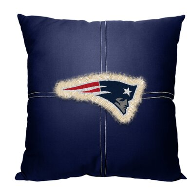 NFL Patriots Cotton Throw Pillow