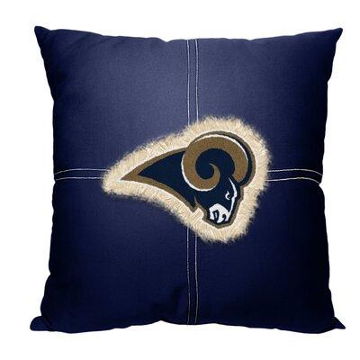 NFL Throw Pillow NFL Team: Rams