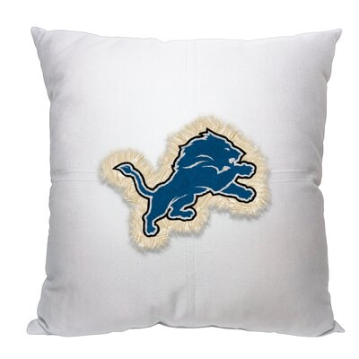 NFL Lions Cotton Throw Pillow