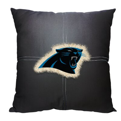 NFL Panthers Cotton Throw Pillow