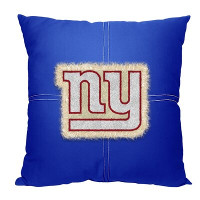 NFL New York Giants Cotton Throw Pillow