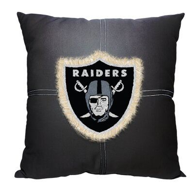 NFL Throw Pillow NFL Team: Raiders