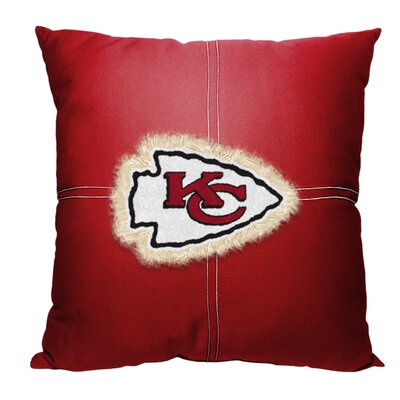 NFL Chiefs Cotton Throw Pillow