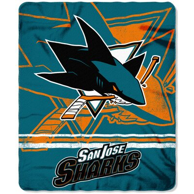 NHL Sharks Fade Away Throw